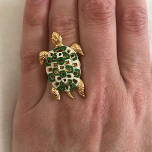 Kate Spade New York Turtle Ring, Size 6